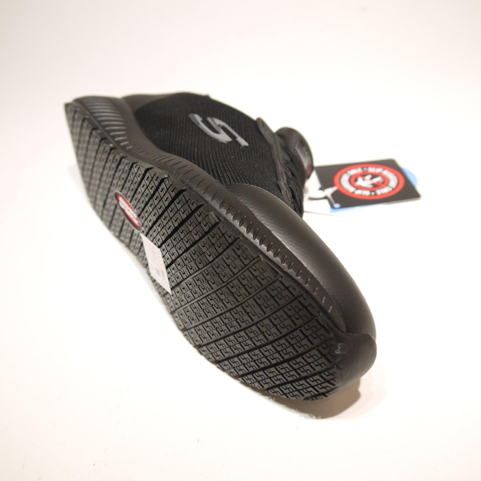 Squad SR Trainers Womens Sporty Mesh Slip Resistant Shoe 77222EC Skechers Work