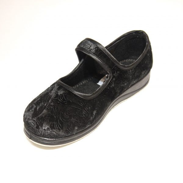 Ladies Padders Mary Jane Styled Slippers /'Peggy/'
